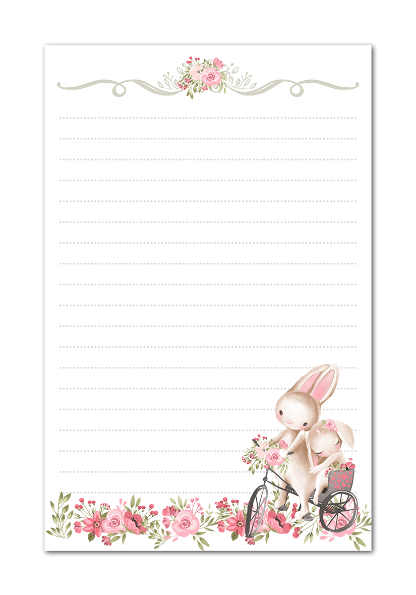 Free Easter Printable Stationerry