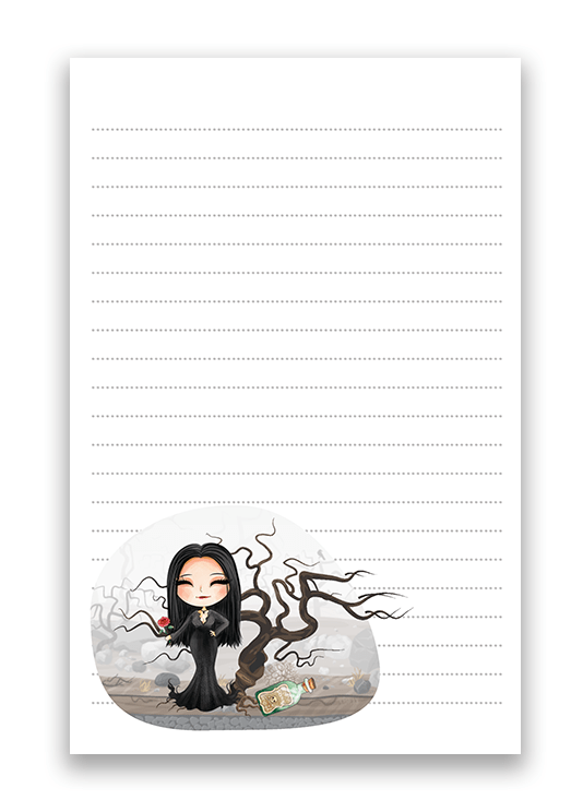 Latisha Fan Art Stationery