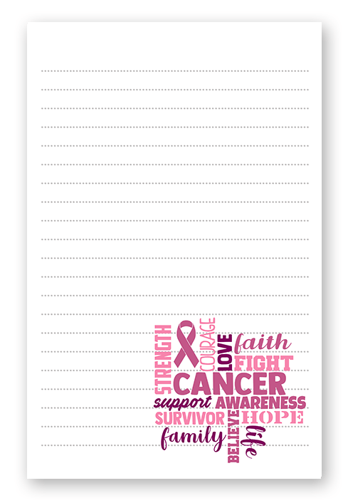 Cancer Awareness Stationery
