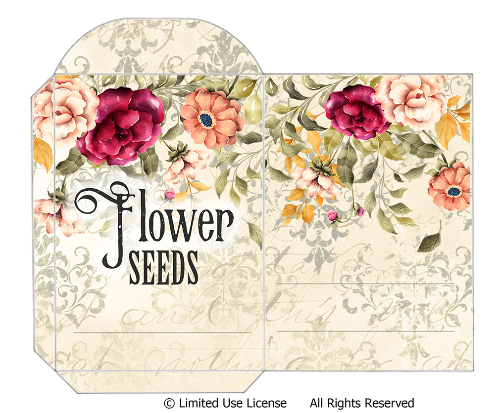 Printable Seed Packet Free Download