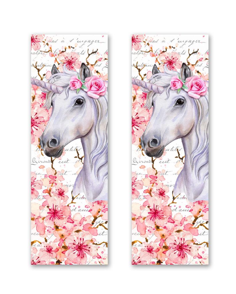 Unicorn Shaker Bookmark