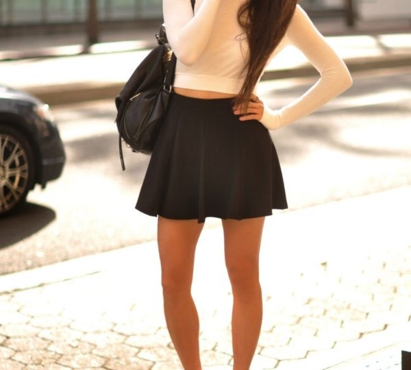 Cute Summer Outfits Idea to Wear with Converse Sneakers