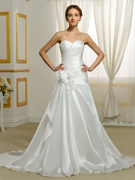 High Quality Sweetheart A Line Wedding Dress