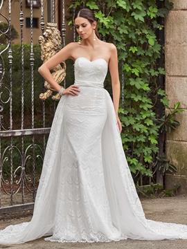 High Quality Sweetheart Mermaid Lace Wedding Dress