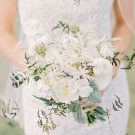 Vintage Lace Southern Wedding
