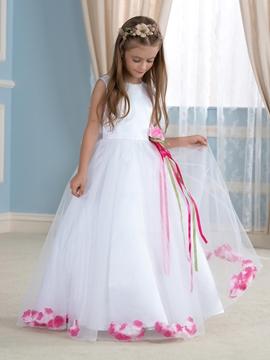 Fancy A Line Flower Girl Dress