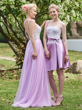 Pretty Sweetheart A Line Short Bridesmaid Dress