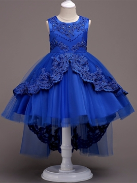 Tulle Ball Gown Flower Girl Party Dress