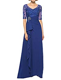 A-line Simple Evening Dress Long 2018 Mother of The Bride Dress
