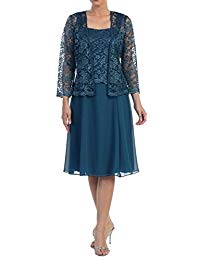 Love Dress Short Mother of the Bride Dress Formal Plus Size Lace Jacket