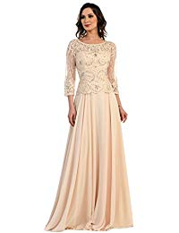 MQ1279 3-4 Sleeve Mother of The Bride
