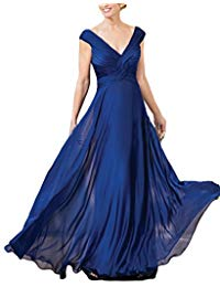 Chiffon Mother Of Bride Dresses Long Formal Evening Gown 59MD