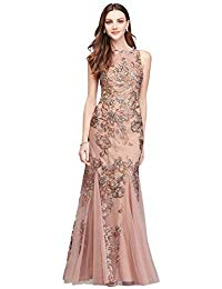 Embroidered Floral Sequin Mesh Mermaid Mother of Bride-Groom Gown Style 59241D