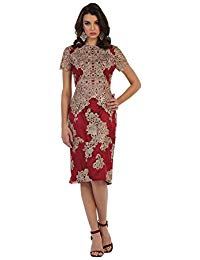 MQ1478 Short Sleeve Mother of The Bride Dress