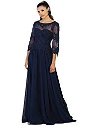 MQ1484 Mother of The Bride Evening Gown