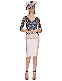 Newdeve Short Mother of the bride dresses Tea length Plus Size Formal Gown