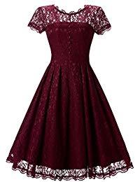 Short Prom Dresses Formal Vintage Swing Party Cocktail Dresses