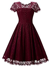 Short Prom Dresses Formal Vintage Swing Party Cocktail Dresses