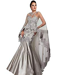 Sweetheart Mermaid Cape Evening Mother Of The Bride Dress