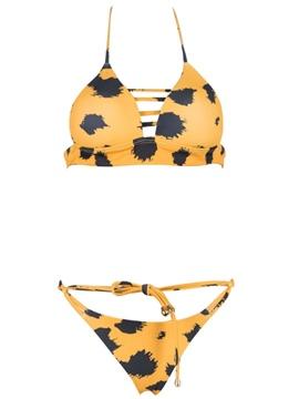 Sexy Bikini Set Lace-Up Swimwear