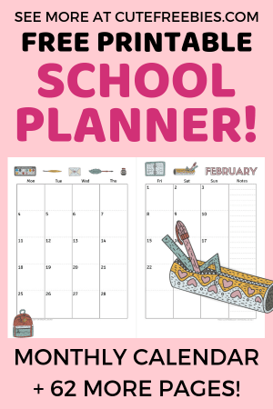 2019-2020-calendar-two-pages Weekly Homework Planner Pages on scrapbook planner pages, do it yourself planner pages, weekly work planner pages, student planner pages, weekly schedule planner pages, printable planner pages,