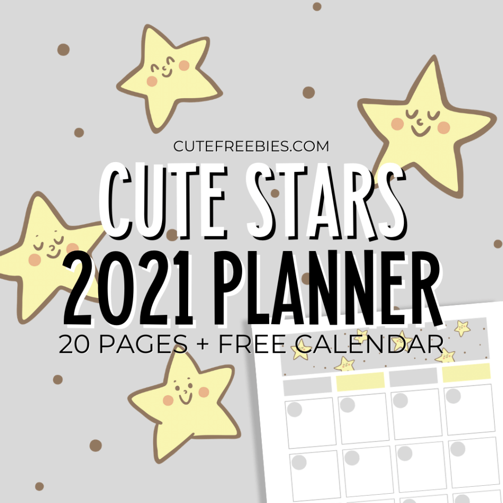 Free Printable Calendars And More Cute Freebies For You
