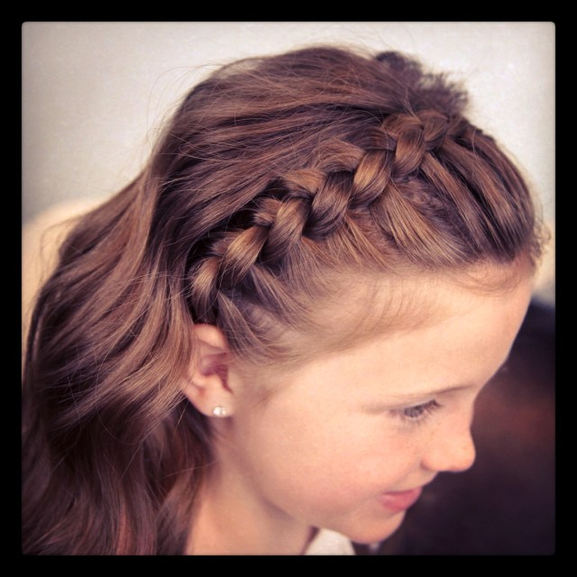 dutch lace braided headband | braid hairstyles | cute girls