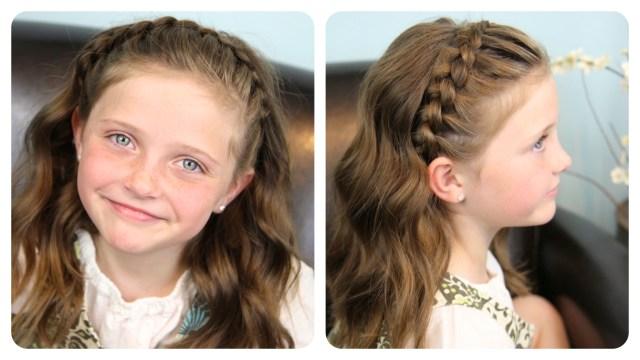 dutch lace braided headband | braid hairstyles | cute girls