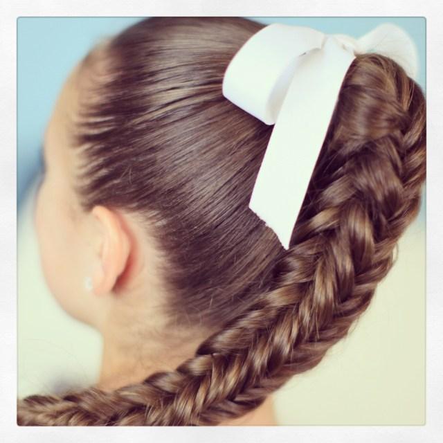 box {4-sided} fishtail braid | cute braid ideas | cute girls