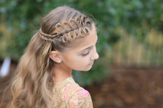 5 pretty hairstyles for easter! | cute girls hairstyles