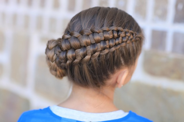 how to create a zipper braid | updo hairstyles | cute girls