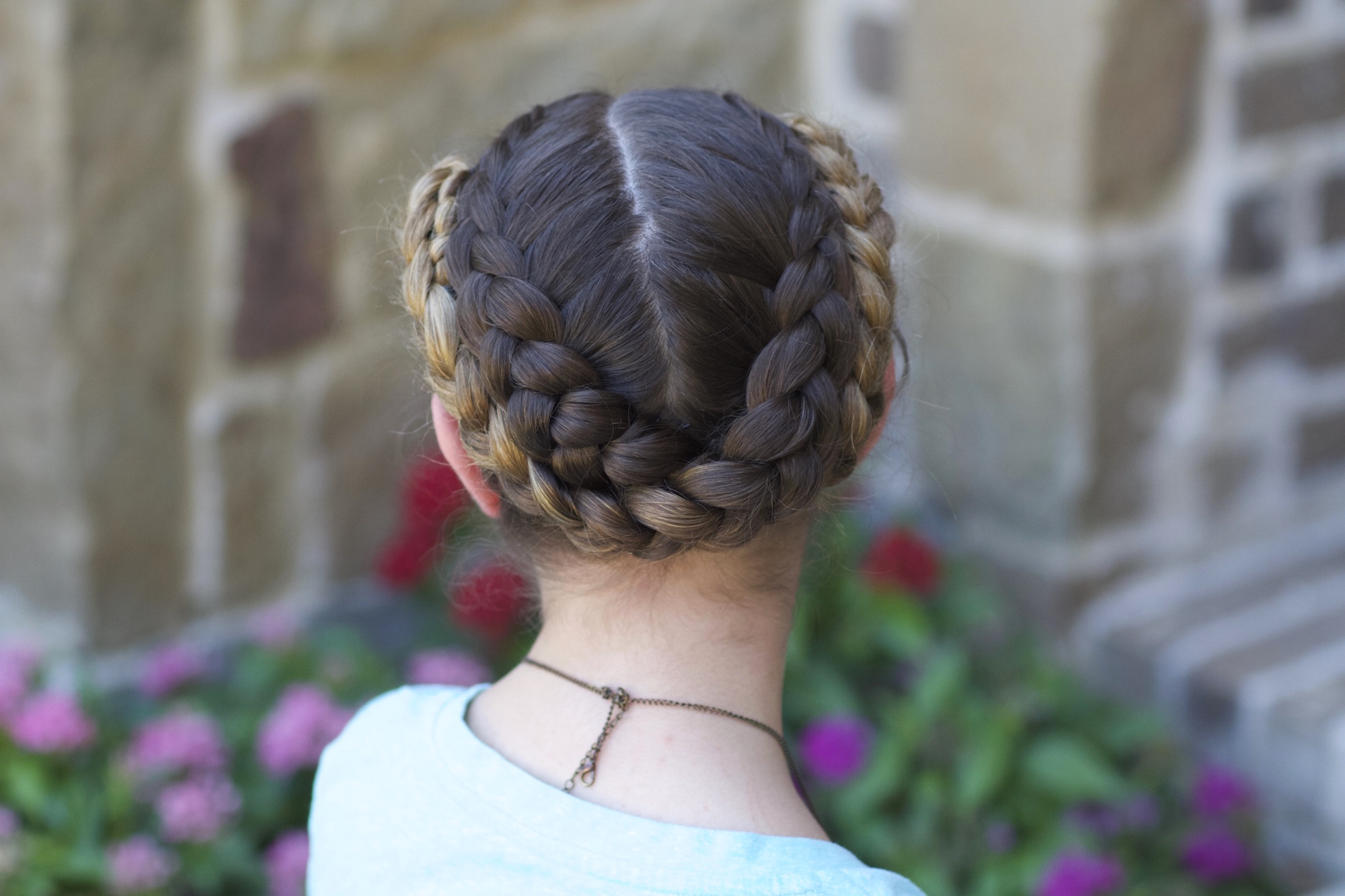 Easy Fold Up Braids Back to School Hairstyles