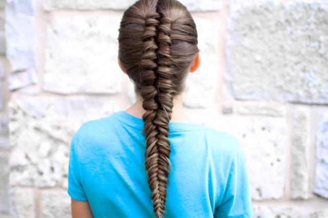 how to create an infinity braid combo | cute girls hairstyles