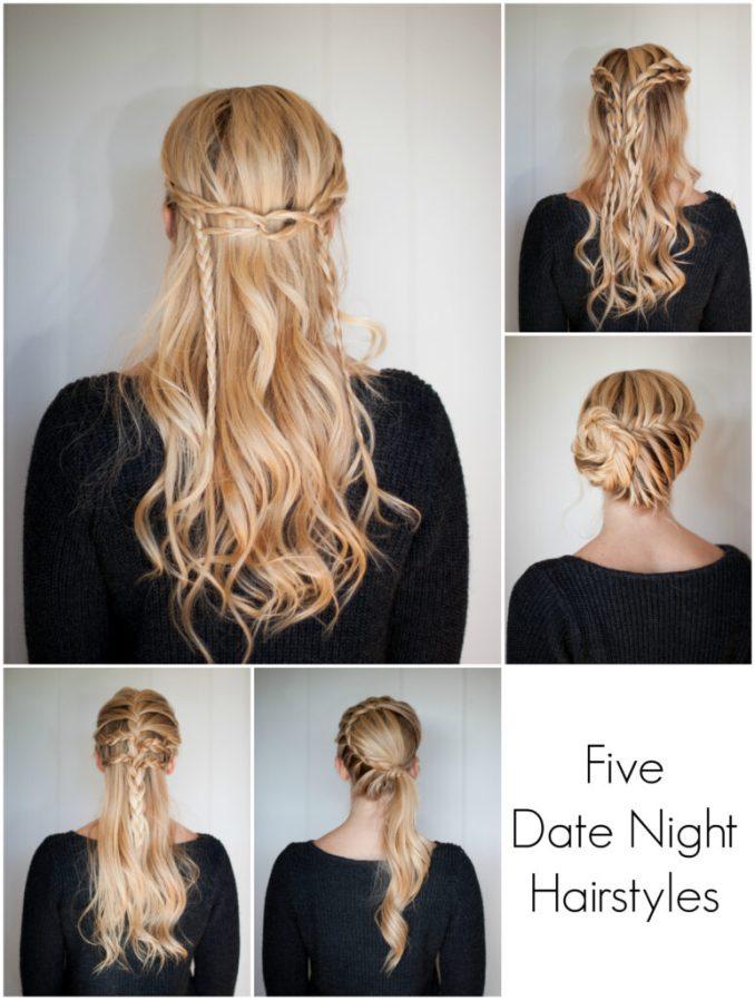 5 date night hairstyles | cute girls hairstyles