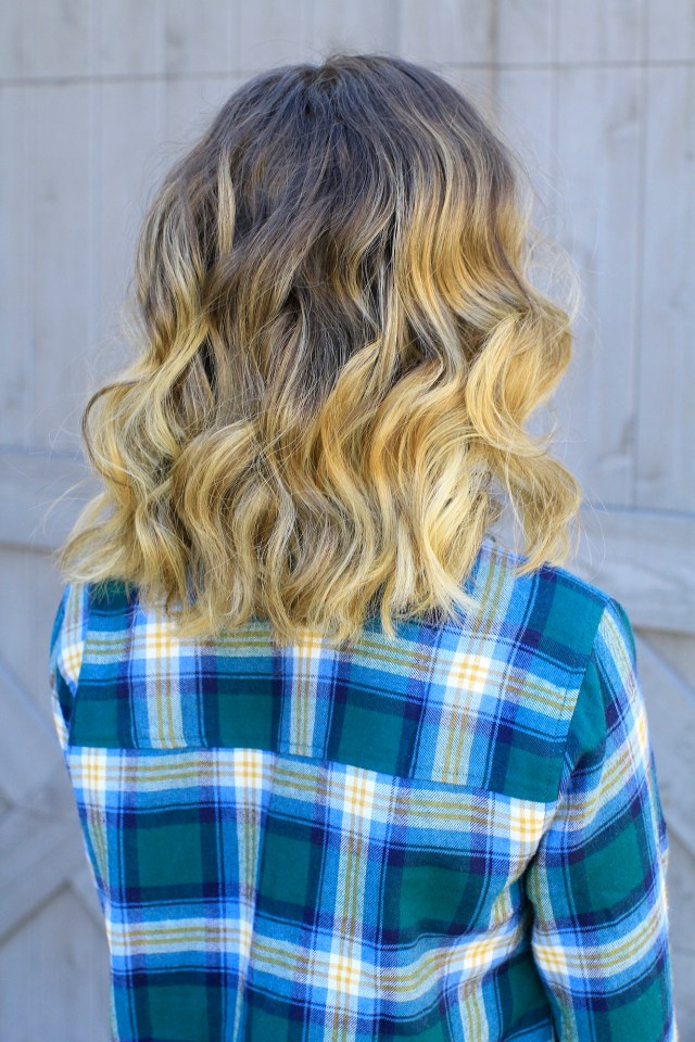 bailey's 25mm wand curls | cute girls hairstyles