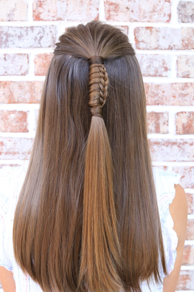 5 easy hairstyles for back to school | cute girls hairstyles