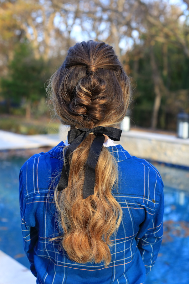 Fishtail Ponytail   Cute Girls Hairstyles - Best Hairstyles ...