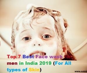 Top 5 Best Face wash for men in India 2019 (For All types of Skin)