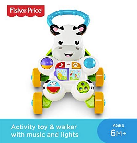 Fisher-Price DLF00 Learn with Me Zebra Walker