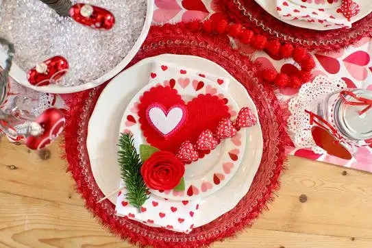 How to Style a Valentine's Day Table - Gallery Slide #3