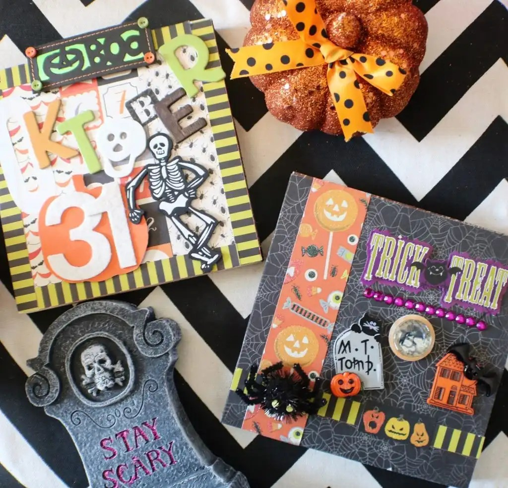 Kid friendly, easy halloween crafts