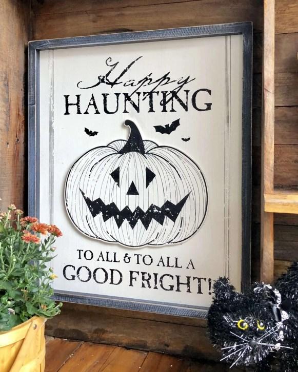 I love the cute spooky side of Halloween.