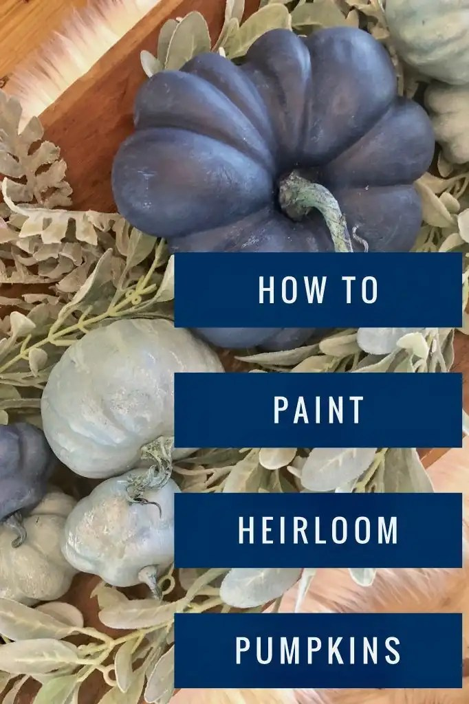 how to paint heirloom pumpkins