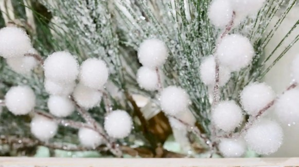 Lastly, snowberry picks.