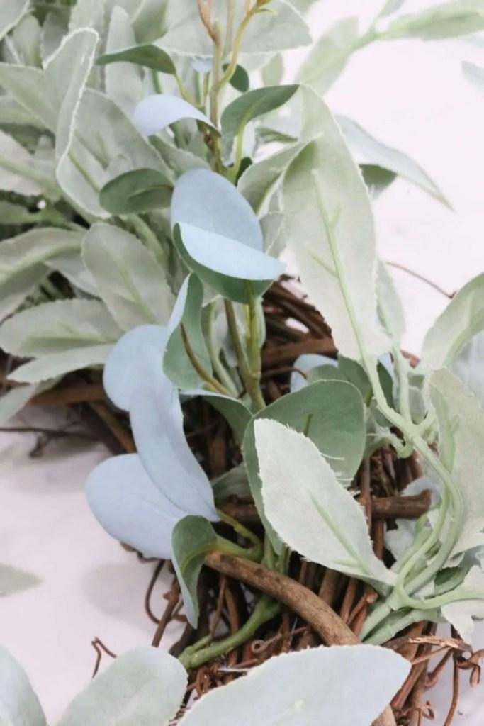 simple diy herb wreath