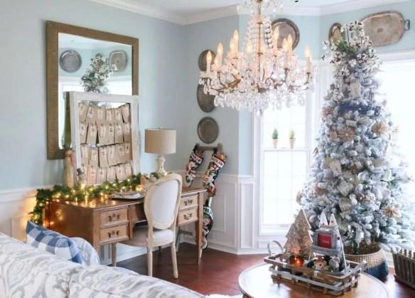 Christmas decor for living room