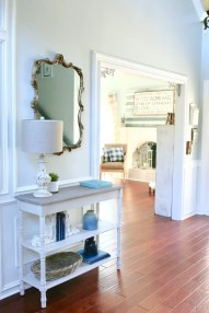 console table entryway