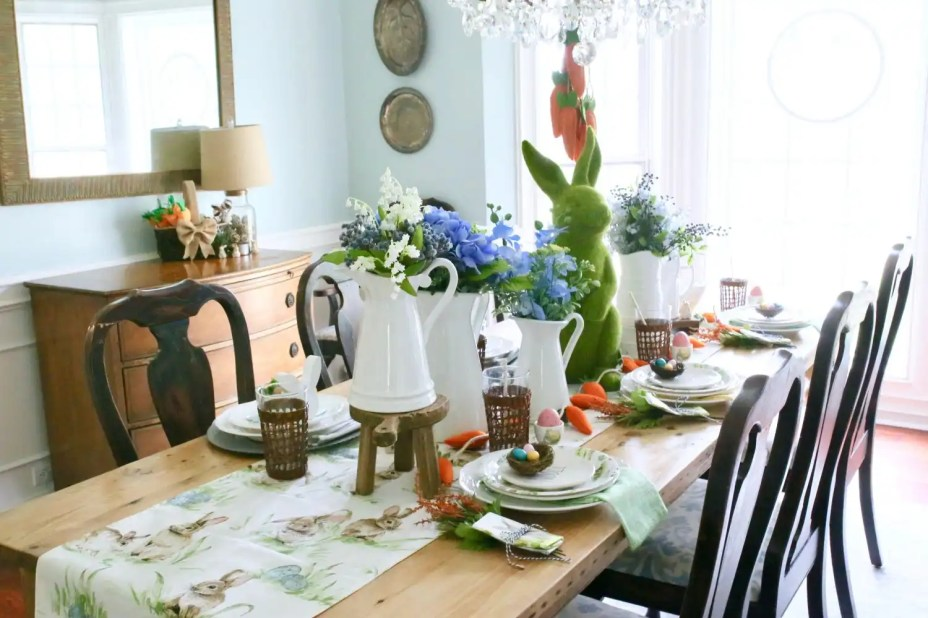 kid friendly tablescape