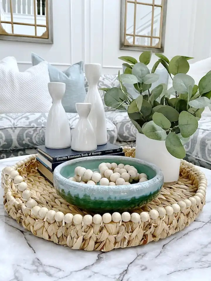 How To Style Coffee Table Decor For Spring Cutertudor