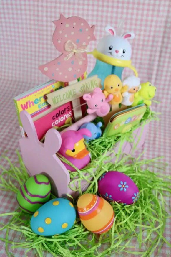 Easter Basket for Baby Girl